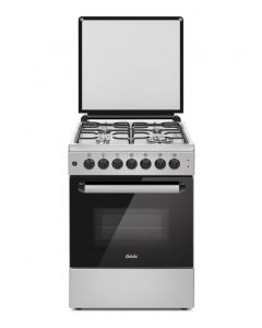Challenger Kingfisher Gas Oven & Stove 60x60 - Stainless Steel