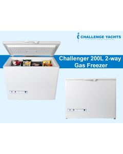 Challenger 200L 2-way Gas Freezer
