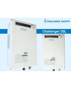 Challenger 20L LPG/CNG Water Heater