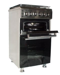 Challenger Albatross Gas Oven, Stove and Grill - Stainless Steel
