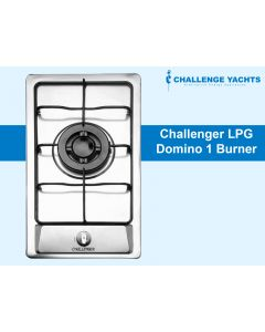 Challenger Domino Gas Single Burner Hob