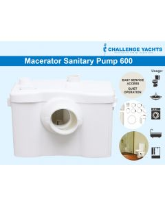 Grey and Black Water Macerator Pump (600)