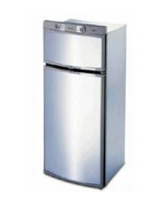 base image product RM 7855 175 Litre 240V 12V LG Gas 2 door fridge freezer