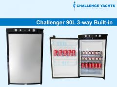 Challenger 90L 3-way Gas Fridge - Built-in