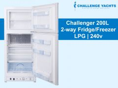 Challenger 200L 2-way Gas Fridge
