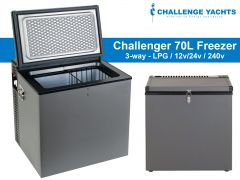 Challenger 70L 3-way Gas Freezer
