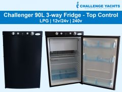 Challenger 90L 3-way Gas Fridge
