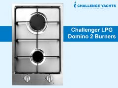 Challenger Domino Gas Double Burner Hob