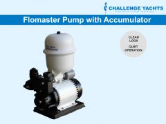 Flomaster Water Pump with Accumulator Tank, 240V